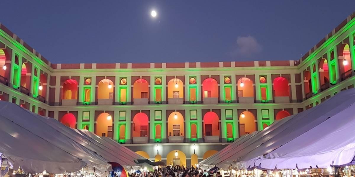 Celebran el Fiestón Cultural en Cuartel de Ballajá