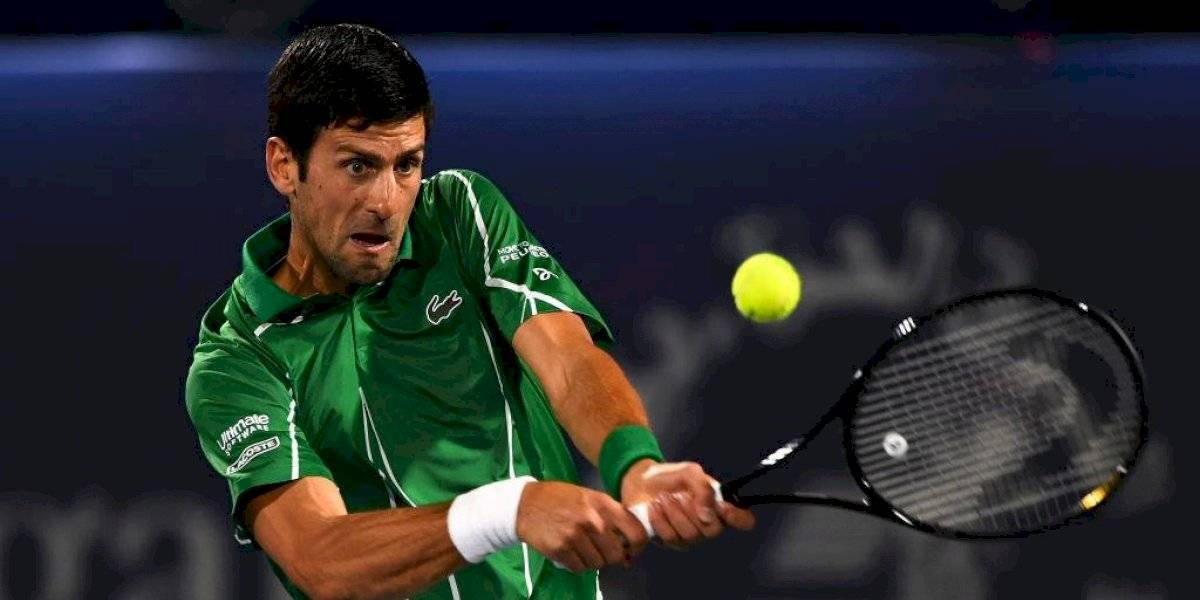 Novak Djokovic sigue imparable y se corona campeón del ATP 500 de Dubai