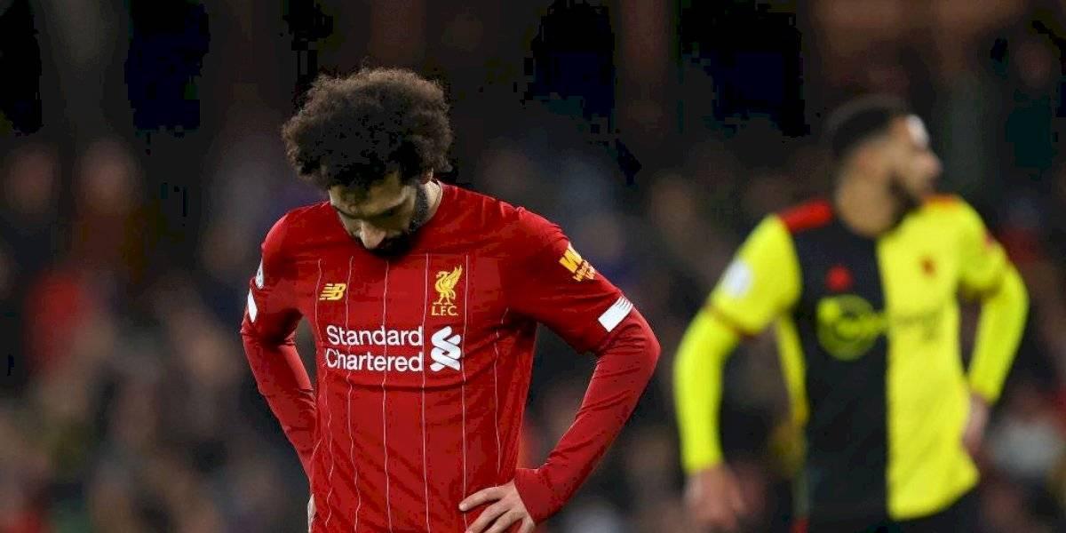 Liverpool pierde el invicto tras ser goleado por el Watford