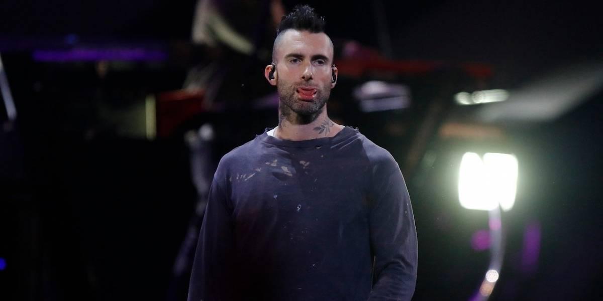 """""""Maldita ciudad"""": Adam Levine abandona el escenario de Viña del Mar en medio de insultos"""