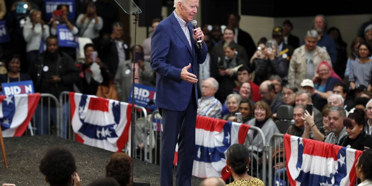 Joe Biden gana primarias en Carolina del Sur y rompe racha de Sanders