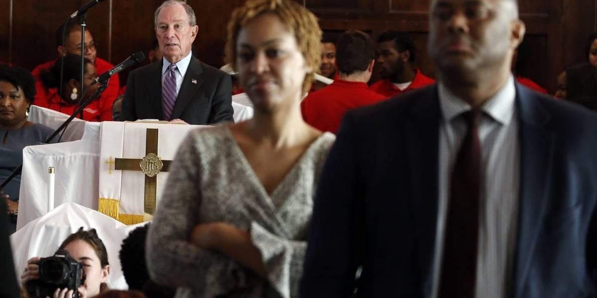 Precandidatos demócratas piden apoyo de los votantes negros