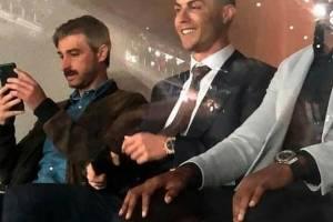 Cristiano Ronaldo en el Santiago Bernabéu