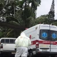 Accidente en Santo Domingo