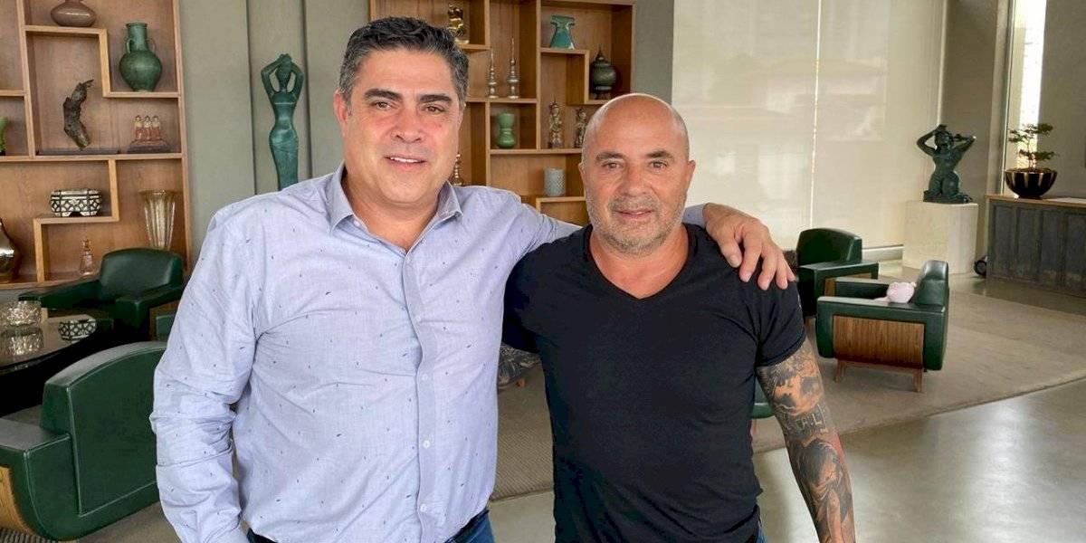 Se quedó en Brasil: Sampaoli fue oficializado como nuevo técnico del Atlético Mineiro