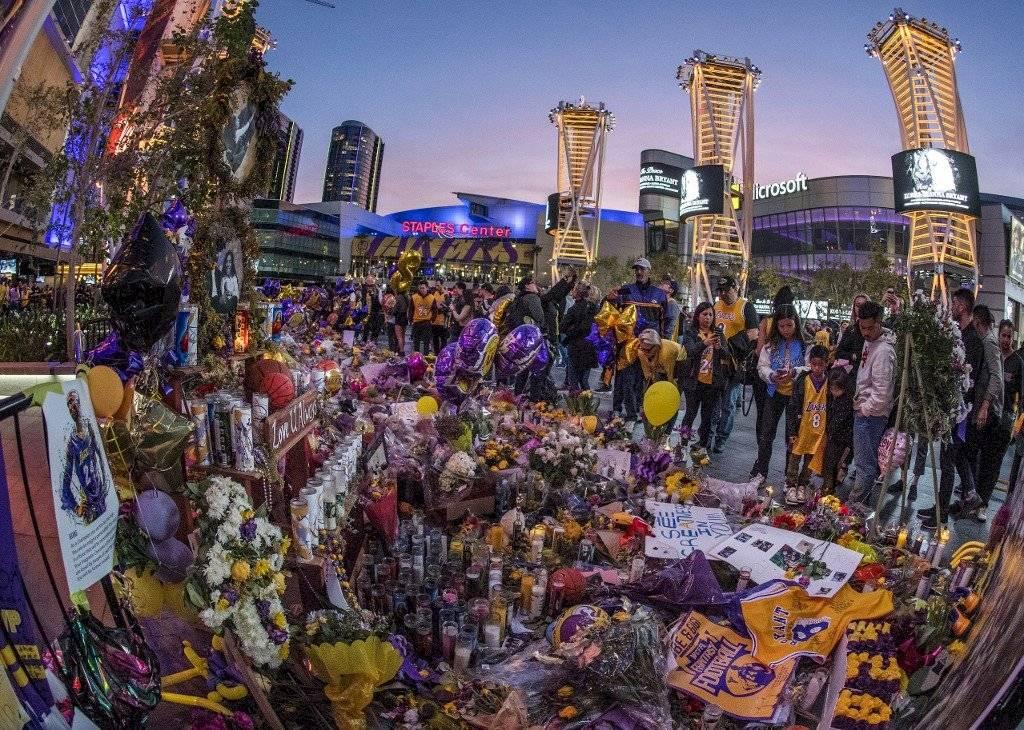 Filtran imágenes de los cuerpos de Kobe Bryant y su hija