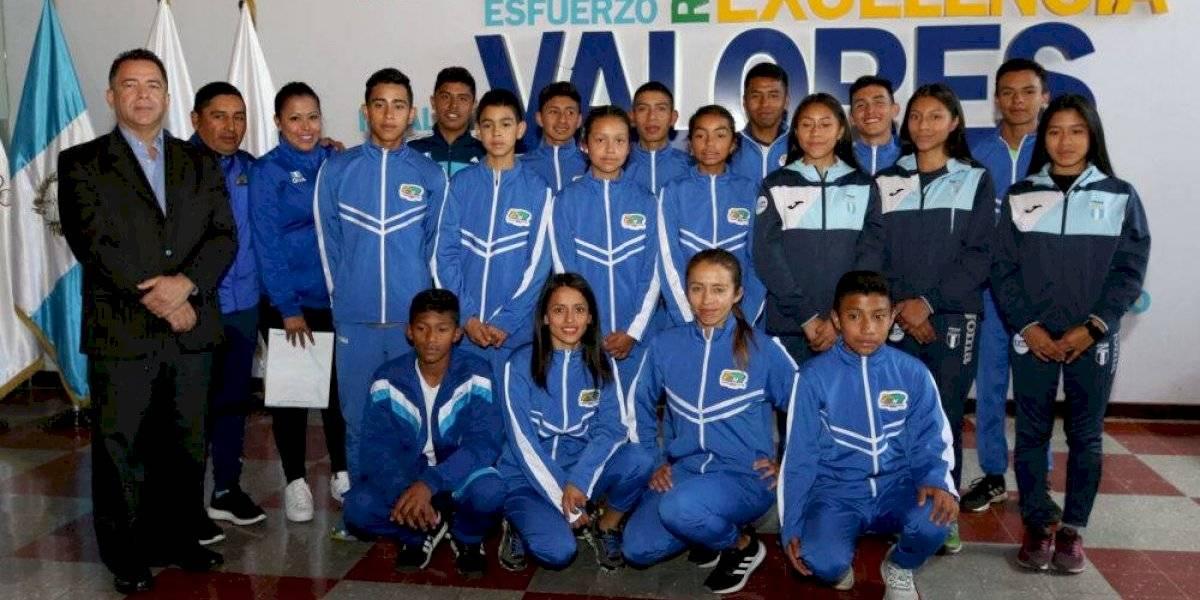 Guatemala arrasa con medallas de oro en Centroamericano de Costa Rica