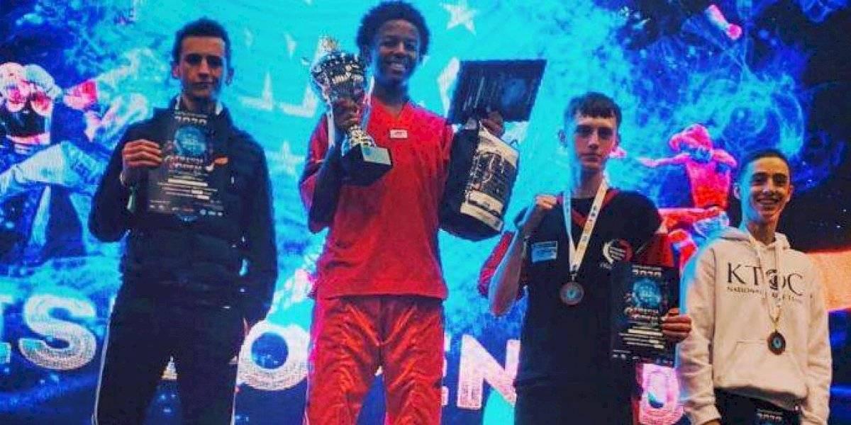 El kickboxing guatemalteco brilla en el Irish Open de Dublín