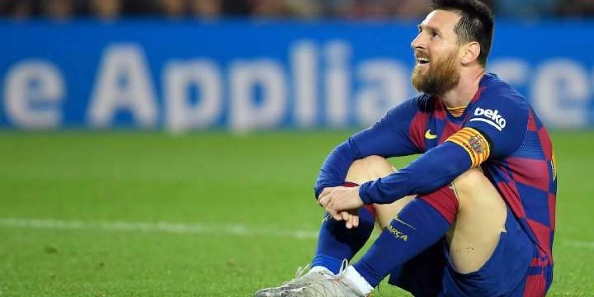 VIDEO. ¿Lionel Messi llega lesionado al Santiago Bernabéu?