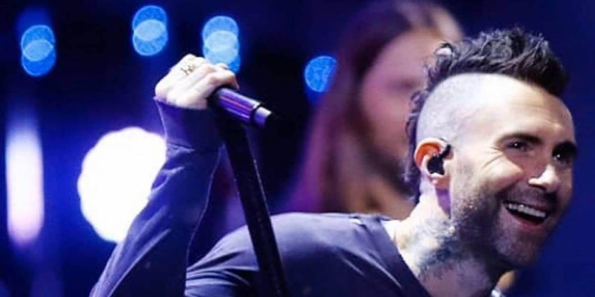 Se filtra video de Adam Levine, vocalista de Maroon 5 lanzando ofensas contra Viña del Mar