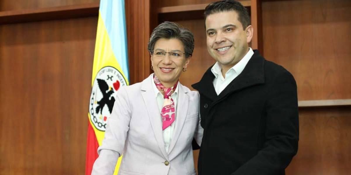 """Claudia López dice que el gobernador de Cundinamarca es su """"nuevo novio"""""""