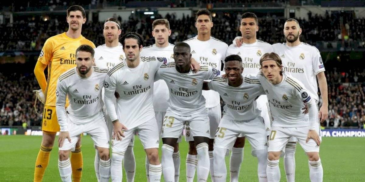 Alineación titular del Real Madrid vs. Barcelona en El Clásico del Santiago Bernabéu