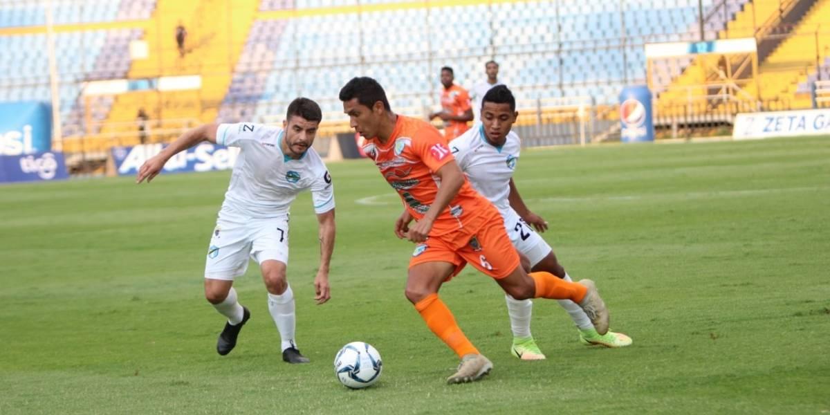 Comunicaciones empata ante Sanarate pero mantiene el liderato del Clausura 2020