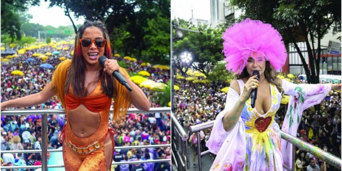 Nem chuva esfriou a folia do paulistano no pós-Carnaval