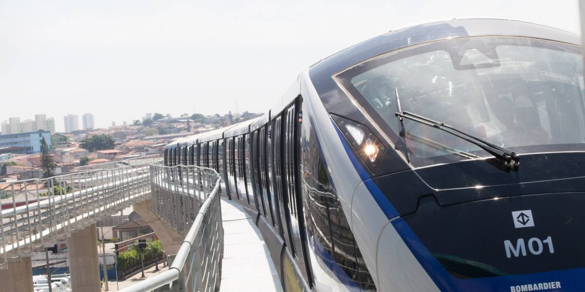 Linha 15-Prata tem falha e monotrilho não funciona nesta segunda em São Paulo