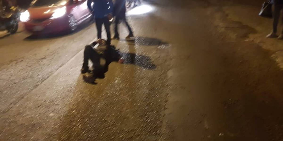 Autoridades de Mixco reportan accidente de tránsito, tres resultaron heridos