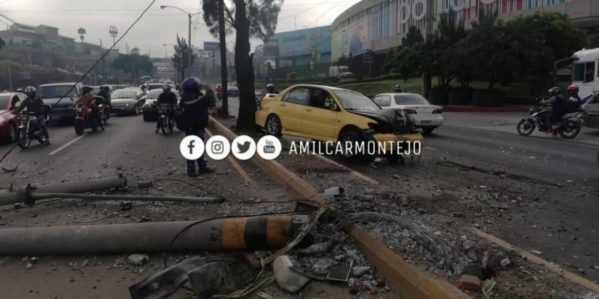 Dos fallecidos y más de 10 heridos por accidentes de tránsito este lunes