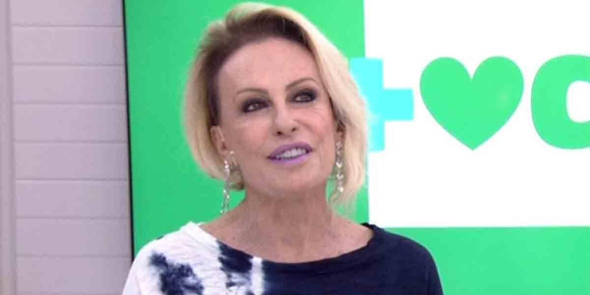 Em entrevista, Ana Maria Braga fala sobre luta contra câncer e como parou de fumar