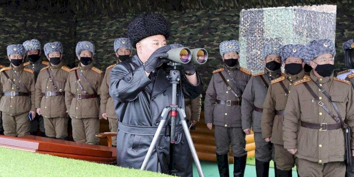 Corea del Norte hace una nueva prueba de proyectiles