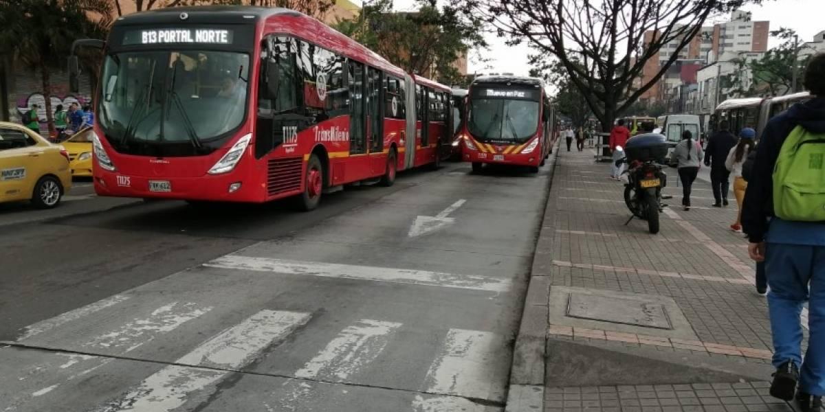 Reportan congestión y aglomeraciones en TransMilenio con la nueva normalidad