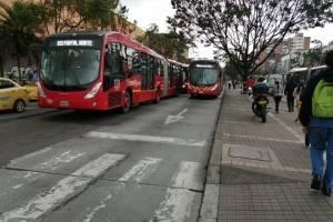 Varias estaciones de TransMilenio se encuentran paralizadas por manifestación