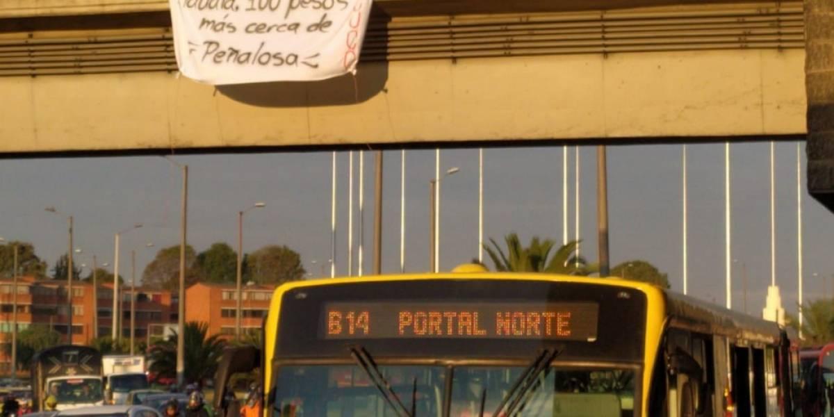 Tras alza en el pasaje de TransMilenio, usuarios se quejan por colapso