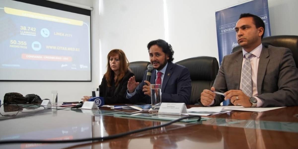 Casi 90 mil personas se contactaron con plataforma digital para enfrentar el coronavirus en Ecuador