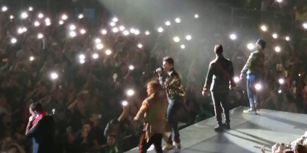Los Backstreet Boys cumplieron el sueño de miles de colombianas