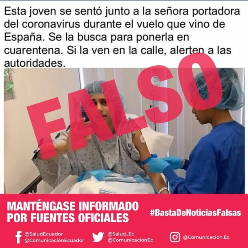 Falsas noticias sobre el coronavirus