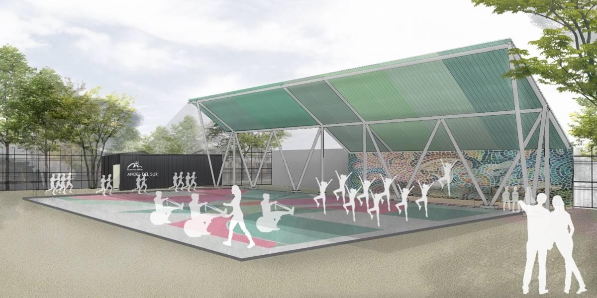 """El concepto de """"plazas de bolsillo"""" del sector oriente llega a Puente Alto"""
