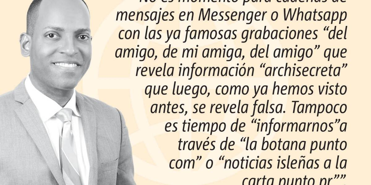 """Opinión de Julio Rivera Saniel: """"Que no panda el cúnico"""""""