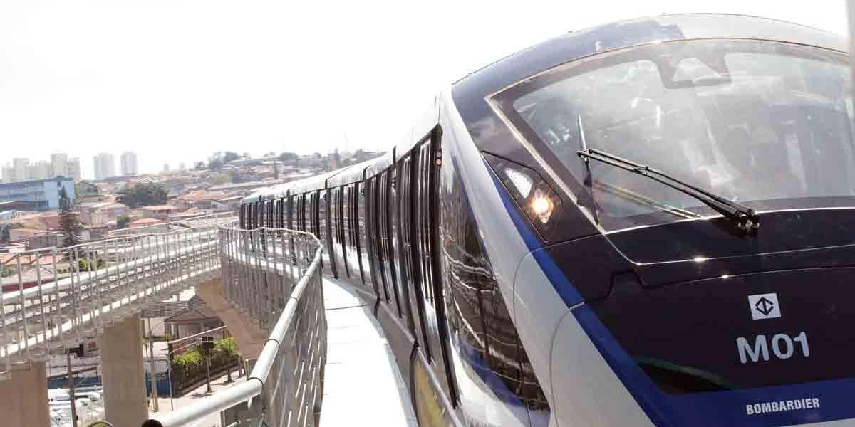 Avenida Ragueb Chohfi será interditada para obras da Linha 15 Prata do Metrô