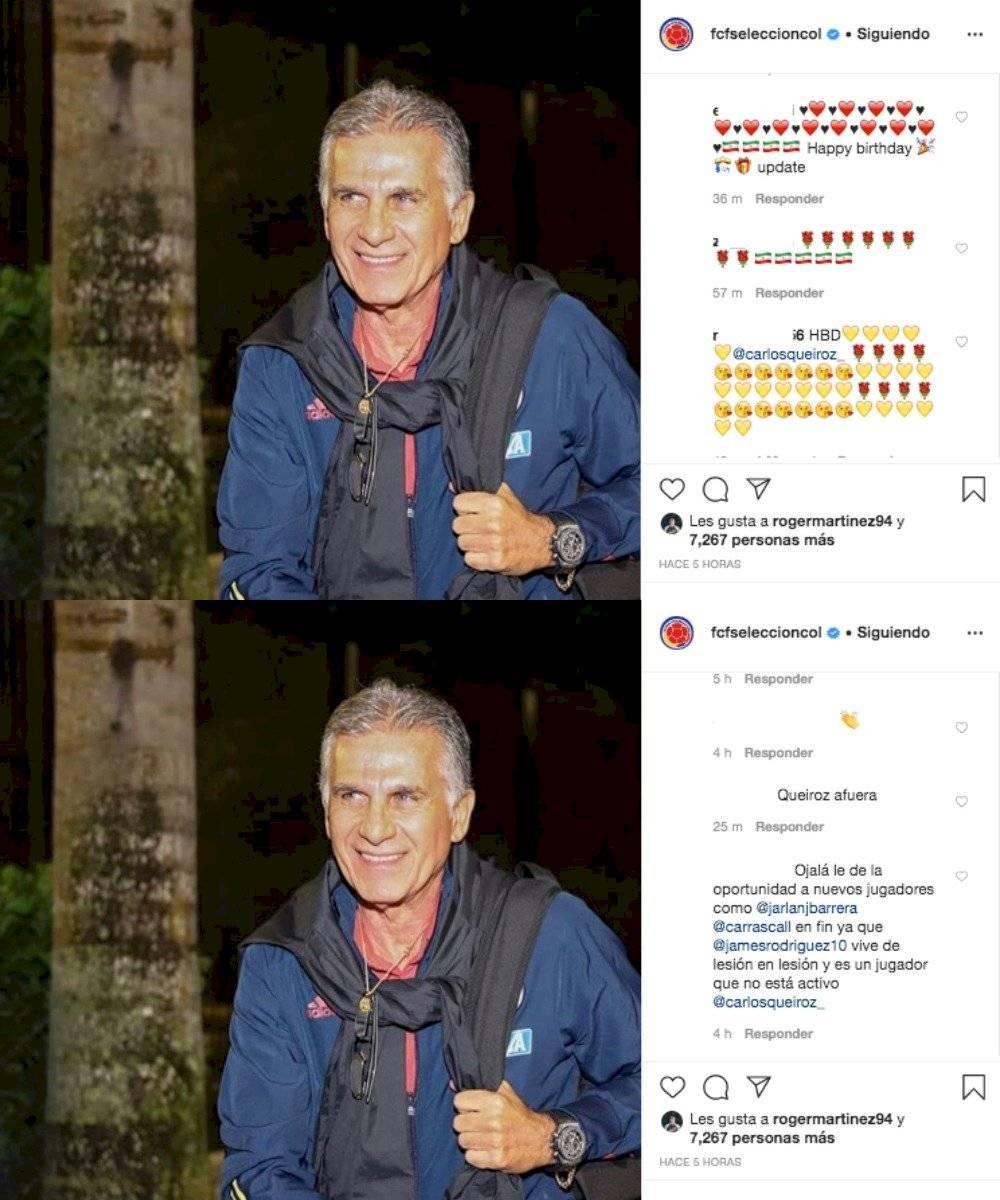 Comentarios cumpleaños 67 de Carlos Queiroz