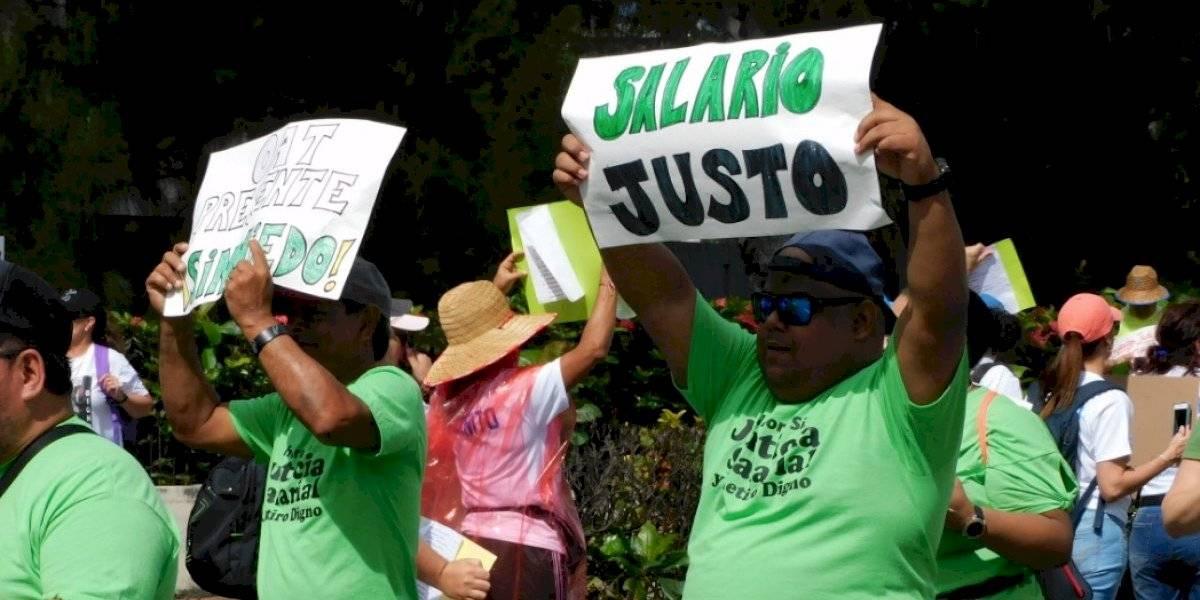 """Empleados de la Rama Judicial reclaman """"justicia salarial"""""""