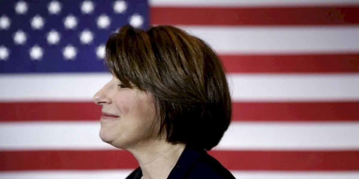 Amy Klobuchar abandona su candidatura presidencial demócrata