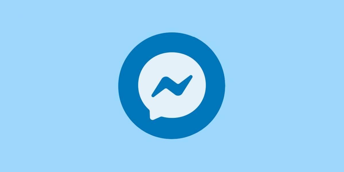 Ahora: usuarios reportan caída de Facebook Messenger