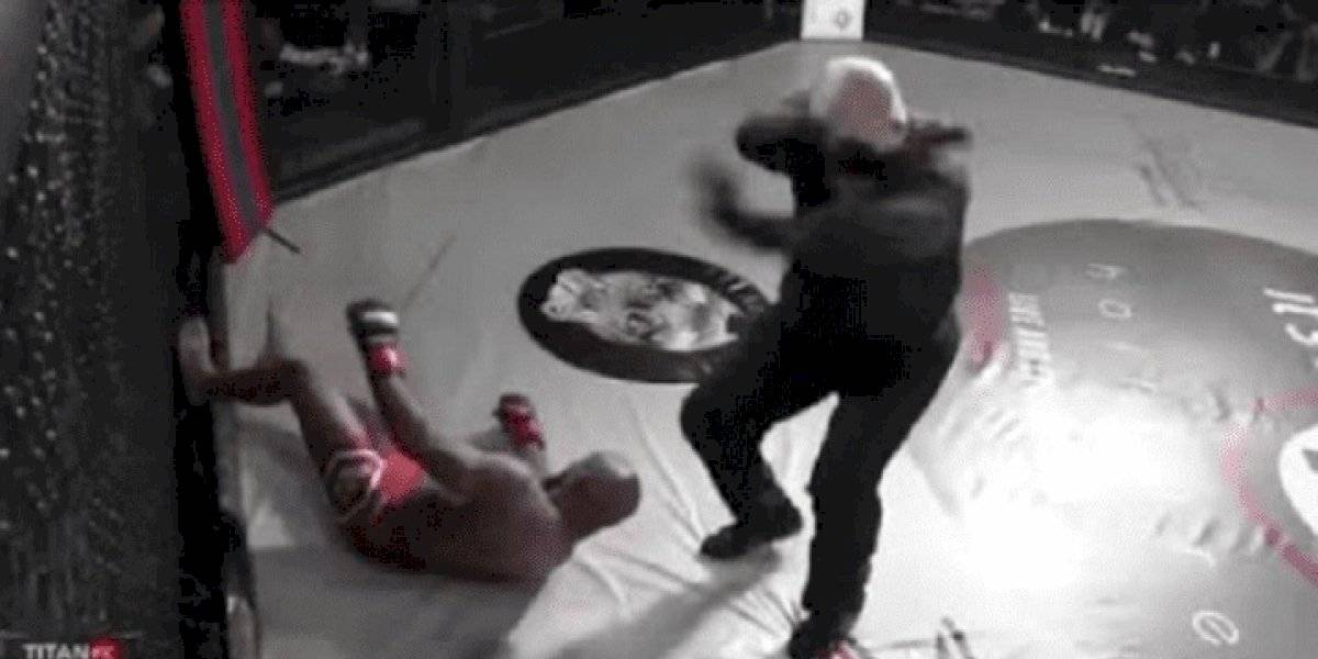 VIDEO: Peleador de MMA recibe peligroso golpe en combate