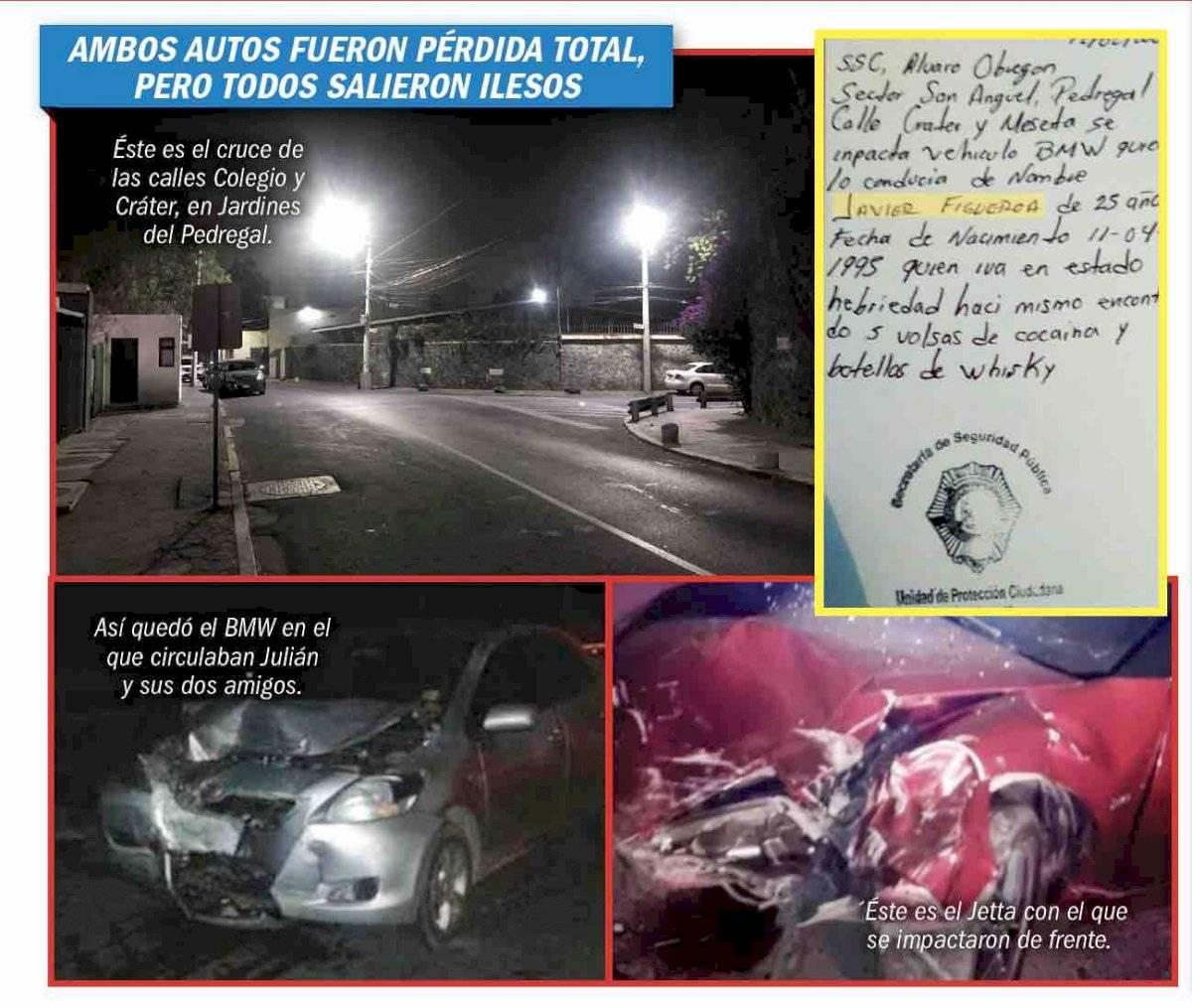 Accidente hijo Maribel Guardia