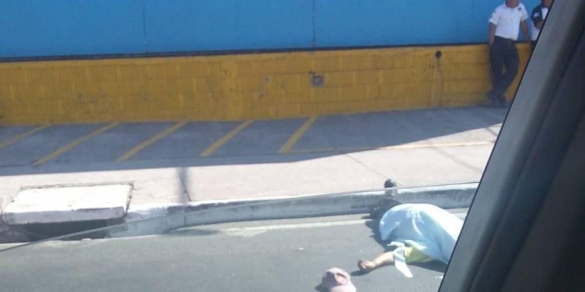 "Bomberos asegura que no tenía signos vitales: hombre ""resucita"" tras atropello en Guatemala"