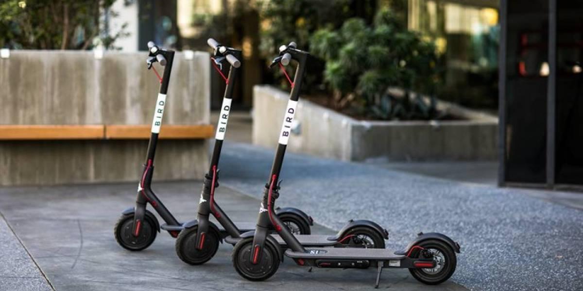 ¿Fracasó el negocio?: los scooters eléctricos Bird se van de Chile