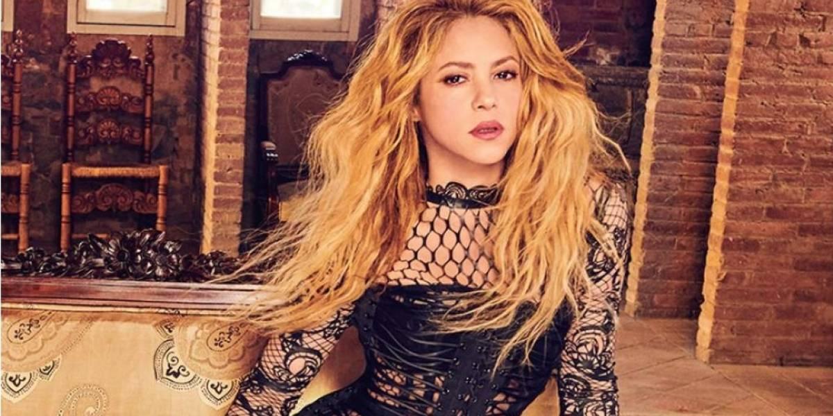 ¡Captada en video! Shakira casi se cae en pleno show y así lo manejó