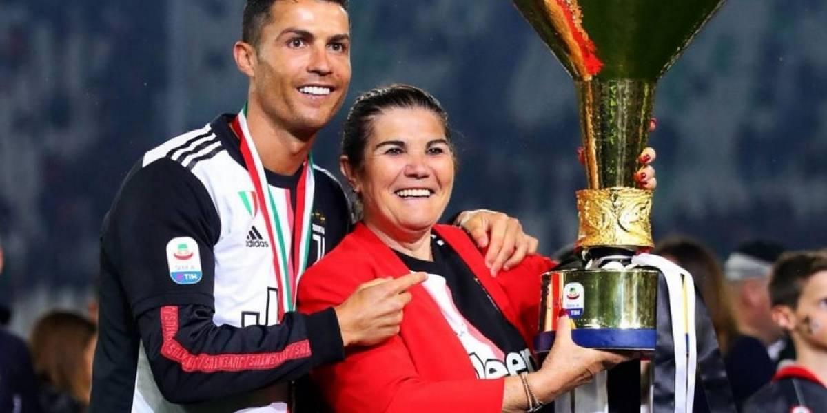 Ingresan de urgencias a la madre de Cristiano Ronaldo