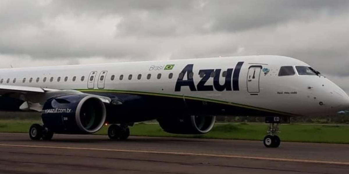 Com renovação de frota, companhia Azul recebe dois novos aviões