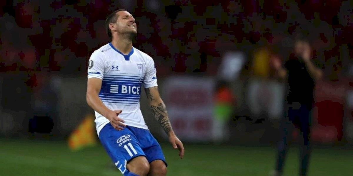 """La UC fue un fantasma en el segundo tiempo y terminó goleada por """"Inter"""" en Copa Libertadores"""