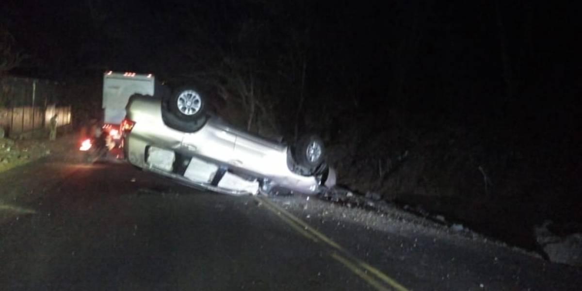 Cuatro personas murieron baleadas en la carretera a Esquipulas