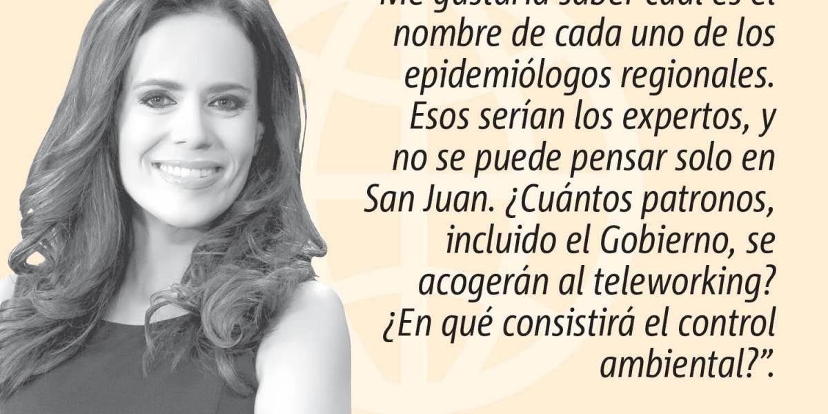 """Opinión de la periodista Mariliana Torres: """"Mascarillas"""""""
