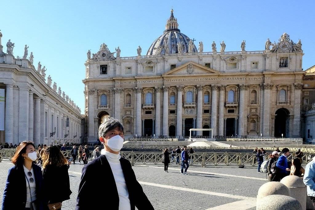 El Vaticano, vacío por temores de coronavirus