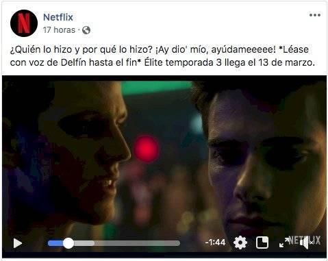 Publicación de Netflix