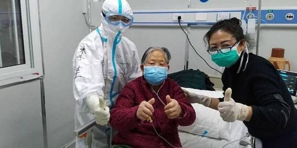 Coronavirus: paciente de 98 años se recupera en China