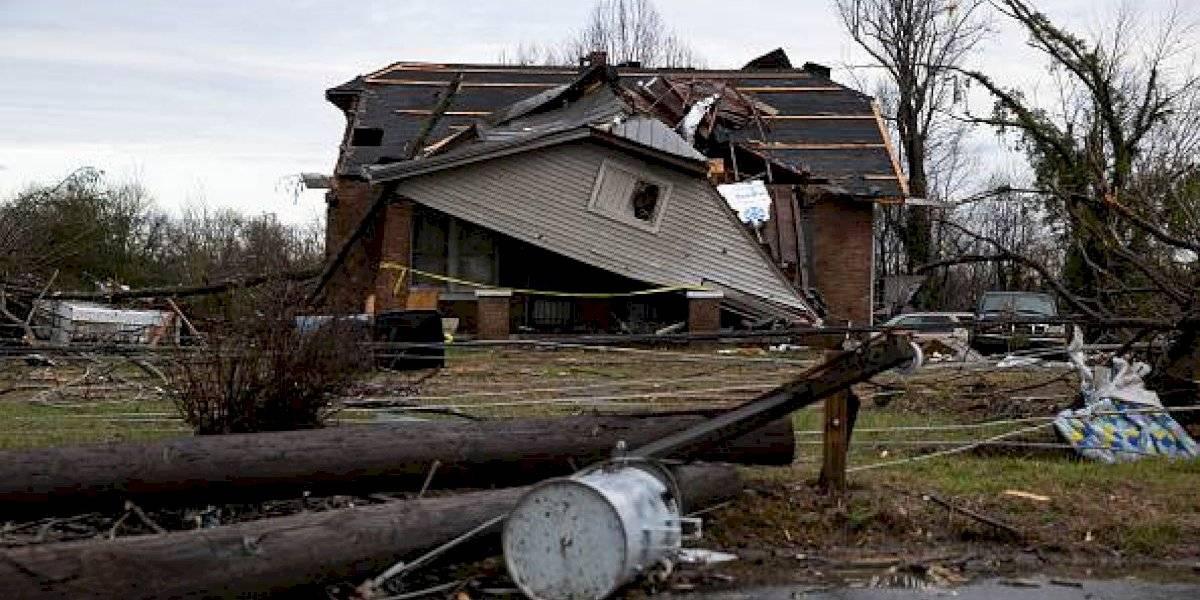 Videos: devastadores tornados deja decenas de heridos en Estados Unidos
